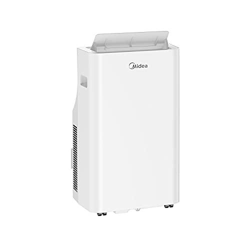 Midea Mobiles Klimagerät Silent Cool 26Pro WF, 3-in-1 Klimaanlage mit Abluftschlauch, Kühlen&Entfeuchten&Ventilieren, 9000 BTU, 2.6kW, für Räume ca. 80m³(32㎡), EEK A