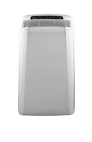 De'Longhi Pinguino PAC CN93 Eco mobiles Klimagerät mit Abluftschlauch, Klimaanlage für Räume bis 90 m³, Luftentfeuchter, Ventilationsfunktion, 12h-Timer, weiß