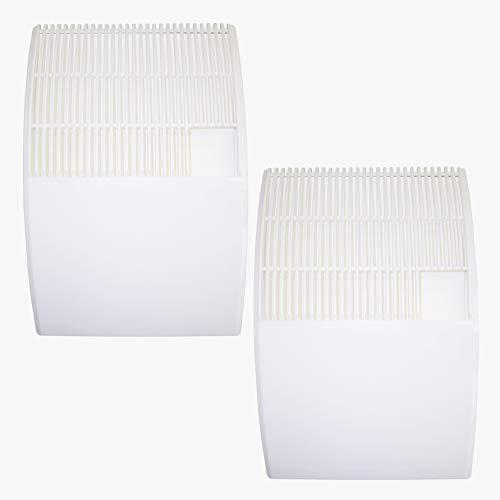 Luftbefeuchter Verdunster 2er Set zum Befestigen am Heizkörper +8 Spezialvlieseinlagen, für Räume bis 20m², Verdampfer, Diffuser a1649