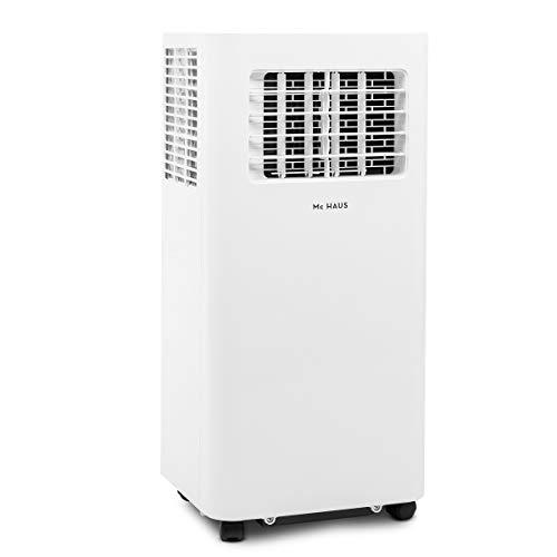 Mc Haus ARTIC-26 - Mobile klimaanlage 9000 BTU/h, 2600W und 2268 frigorien, energieklasse A 3-in-1 luftkühler, ventilator und luftentfeuchter, air cooler, fernsteuerung, 25m², weiß