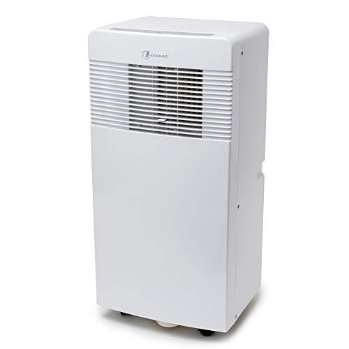 Haverland IGLU-7 | Mobiles Klimagerät Klimaanlage 3-in-1 | 7000BTU | Energieeffizient | 2050W | Kühlung, Entfeuchtung und Ventilationsfunktion | Leise | Fernbedienung | Fensterabdichtung | Weiß