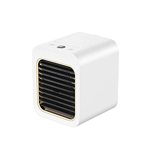 BTOPER Mobile Klimageräte, Air Cooler Mini, Klimaanlage Klein Luftkühler mit Wasserkühlung Ventilator für Büro und Zuhause,Luftbefeuchter Wasserkühlung Ventilator, Air Cooler für Zuhause und Büro