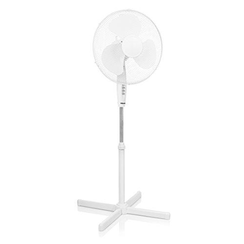 Tristar VE-5893 Standventilator-Durchmesser 40 cm-Höhenverstellbar, 45 W, weiß, 105-125 cm