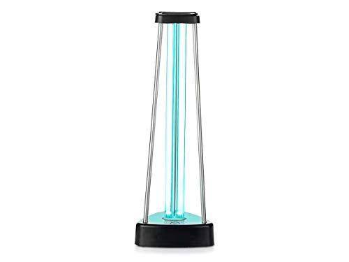 LEDLUX UV-Keimtötungslampe, 38W, mit Ozon-Gas-Sterilisation, Desinfektion, lokale Hygiene von bis zu 60m², tötet 99,9% der Bakterien, Viren, Schimmel und Krankheitserreger ab