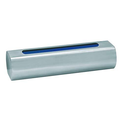 Metrox Luftbefeuchter aus Edelstahl im Röhren-Design (für Kamin, Ofen + Heizkörper, Inhalt 400 ml, Raumbefeuchter, Maße 22x6,5x5 cm) 19991