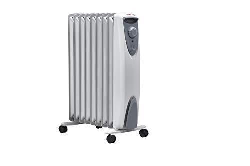 ewt Öko-Radiator NOC eco 20 TLS, elektrische Heizung für Ihr Zuhause, mobiler Heizkörper mit Thermostat, leicht & kompakt, Elektroheizung ohne Öl, 2000 W