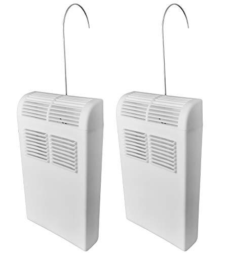 Luftbefeuchter für Heizung Set inkl. Haken - 450ml - Kunststoff Stoßfest - Diffusor- Wasserverdunster Verdampfer Verdunster Heizkörper Luftreiniger inkl. Anhänger - 8 Stück