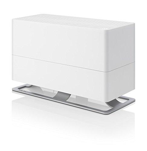 Stadler Form Luftbefeuchter Oskar big, energiesparender Raumbefeuchter für Räume bis 100 m², Verdunster mit Abschalt-Automatik, dimmbare LEDs, sehr leise, weiss