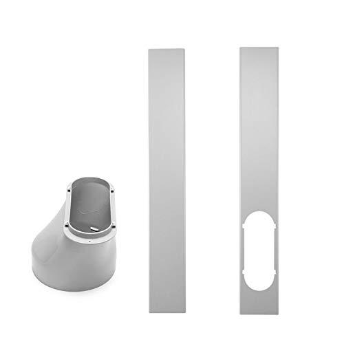 FensteradapterLokale Klimageräte-Zubehör Progress Component Kit, Ersatzteil-Set Mit Abluftschlauch, Fenster- Und Geräteadapter - Passend Für Alle Geräte (Window Plate/Adaptor)