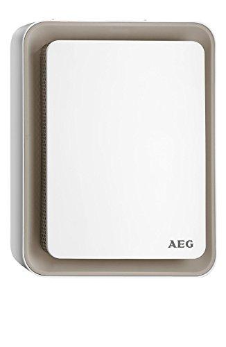AEG Heizlüfter HS 207 B, einzigartiges Design, Sweet-Air-Technologie, Silent-Air-Flow, Umkipp- und Frostschutz, beige, 1,8 kW, 234830