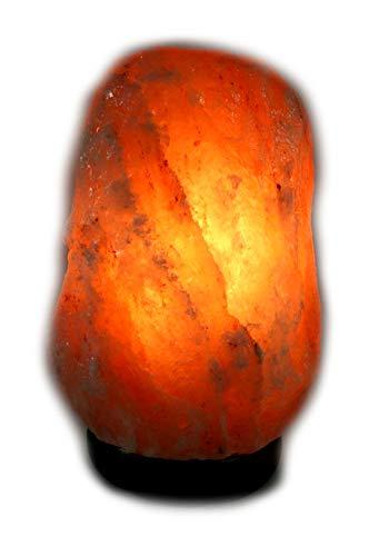 2 x Biova Salz Kristall Stein Lampe Salzlampe Leuchte ca. 2,5- 3,5 kg in 1A Qualität