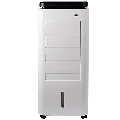 AREBOS 4in1 Aircooler | 5,5 Liter | Mobile Klimaanlage | Luftreiniger | Ventilator mit Fernbedienung | Luftkühler | Timer | 4 Stufen
