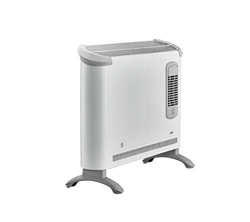 ewt Konvektionsheizung / Heizgerät Clima 281 TSF, mobile Elektroheizung mit Turbo-Gebläse, Standheizung für gleichmäßige Wärme, ultra leiser Betrieb, 2000 W
