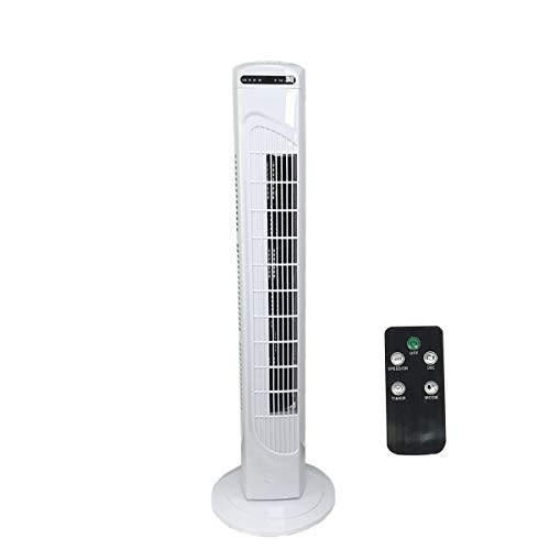 Turmventilator, 70 ° oszillierender Kühlventilator Leistungsstarker Bodenventilator mit Fernbedienung, LED Anzeige, 3 Geschwindigkeitsstufen,Blattloser Standventilator, tragbar für Home Office