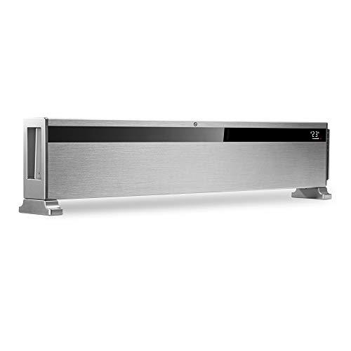 TROTEC Design-Konvektor TCH 1500 E Heizgerät Heizlüfter Elektroheizer 1.500 Watt 10 Heizstufen IR-Fernbedienung Timer leise LCD Display