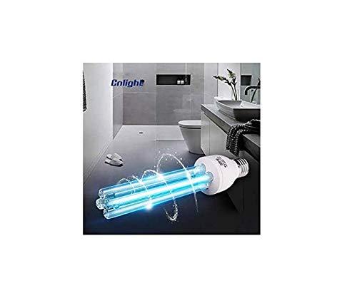 E27 UV-Lampe 15 W / 25 W Desinfektionslampe, 100% antibakterielle Rate, UV-C geführt tragbare desinfizierende, wabenDesinfektionsLampe [Energie Stufe A],25W-Ozone