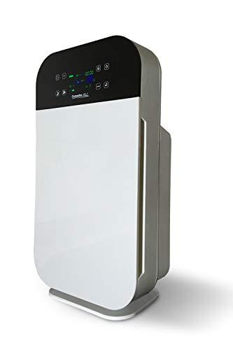 Comedes Lavaero 280 – Starker 7-Stufen Luftreiniger, Rauchverzehrer inkl. Aktivkohle, HEPA-Filter und Ionisator   Mit Luftqualitätssensor   Ideal für Allergiker, Asthmatiker & Raucher   Räume bis 55m²