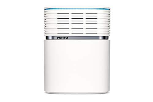 Venta Luftwäscher AeroStyle LW74 WiFi, Luftbefeuchtung und Luftreinigung (bis 10 µm Partikel) für Räume bis 90 qm, Signalweiß, inkl. WiFi/WLAN-Modul