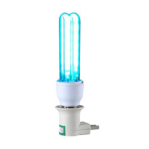 Keimtötende UV-Desinfektionsglühlampe, 20 W UV-C-Licht mit Ozon 220V E27-Fassung, Sterilisation der UV-Glühlampe (Schalterlampenfassung muss separat erworben werden)