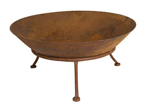 Feuerschale Seona, H 20,00 cm, Eisen, Shabby, Einfarbig