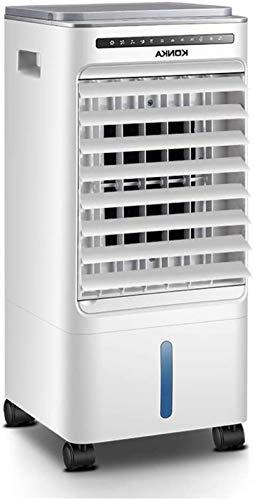 AYCYNI Cold Fan Mobile Klimaanlage Home Fernbedienung, tragbarer 3-in-1-Verdampfungs-Luftkühler-Lüfterweiß