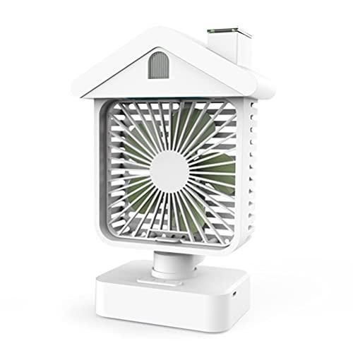 Mobile Klimageräte Luftkühler Tragbarer Luftkühler Mini-Klimaanlage Schreibtischventilator Mini Persönlicher Kleiner Lüfter Wiederaufladbarer USB-Mobiler Anpassen Lüfter mit