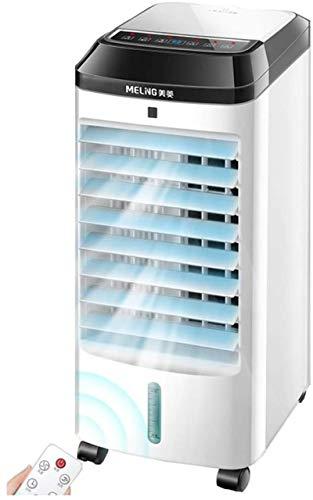 AYCYNI Cold Fan Mobile Klimaanlage für Zuhause mit Fernbedienung, tragbarer 4-in-1-Verdampfungs-Luftkühler-Lüfter, weiß