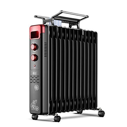 GUOZ 2000W Ölradiator Tragbarer Elektrisch Radiatoren mobiler Heizkörper mit Thermostat, leicht & kompakt regulierbaren Thermostat und Sicherheitsabschaltfunktion