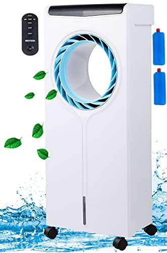 3in1 Air Cooler   4 Liter Wassertank   3 Geschwindigkeitsstufen   3 Modi   Mobile Klimaanlage   Klimagerät   Luftreiniger   Klima Ventilator mit Fernbedienung   Aircooler   Luftkühler