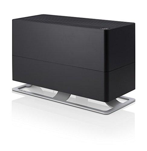Stadler Form Luftbefeuchter Oskar big, energiesparender Raumbefeuchter für Räume bis 100 m², Verdunster mit Abschalt-Automatik, dimmbare LEDs, sehr leise, schwarz