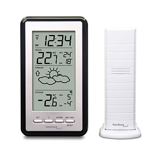 Technoline Wetterstation WS9130-IT mit Vorhersage der Wetterlage, sowie Innen- und Außentemperatur