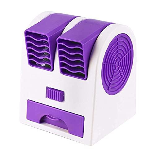 Mobiles Klimagerät Verdunstungskühler Schreibtisch Tisch USB-Fan - Luftkühler, tragbarer persönlicher Raum Arctic Air, Mini-Klimaanlage 3-in-1-Fan-Luftbefeuchter-Reiniger, für Haus / Schlafzimmer / Bü