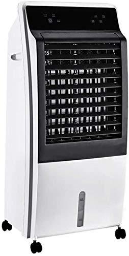 AYCYNI Cold Fan Mobile Klimaanlage für Zuhause, tragbarer 4-in-1-Verdampfungsluftkühler-Lüfter, tragbare Klimaanlage mit Luftbefeuchter-Reiniger 15h Timer White