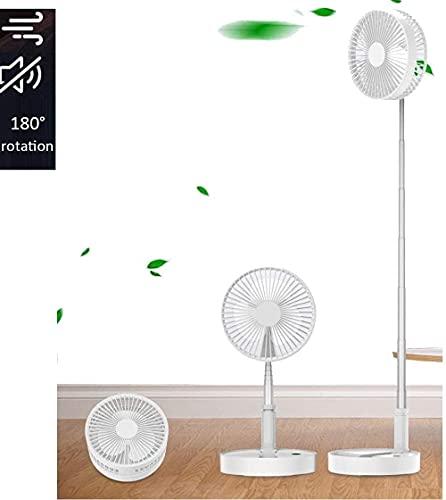 ZXCVBNM Stummschaltung USB elektrischer Ventilator Standventilator Haushalt Stummschaltung Timing Fan mechanischer Lüfter schütteln Kopf elektrischer Ventilator klein (Farbe: Rosa)