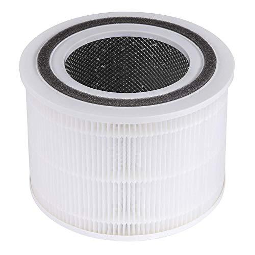 Levoit Luftfilter Ersatzfilter für Luftreiniger Core 200S, H13 HEPA-filter, hocheffizienter Aktivkohlefilter und Vorfilter, gegen Allergien Rauch Staub Pollen, Core 200S-RF