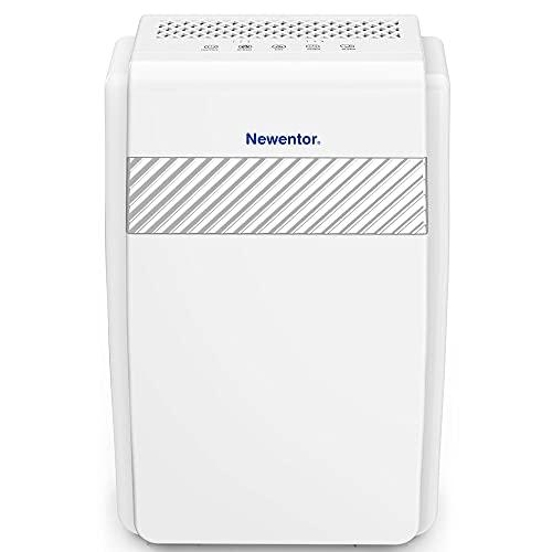 Newentor Luftreiniger mit H13 HEPA Filter, Luftreiniger gegen Rauchgeruch, Raumgröße bis zu 55 ㎡, Raumluftreiniger für Allergiker, Luftwäscher Pollenfilter, Air Purifier