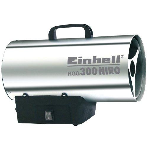 Einhell Heißluftgenerator HGG 300 Niro (30 kW, 1,5 bar Betriebsdruck, 500 m³/h Luftvolumenstrom, Piezozündung, Rückbrandsicherung, Turbo-Ventilator)