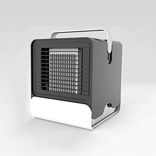 4 In 1 Klimaanlage Mini Luftkühler Mobile Klimageräte Mit Wasserkühlung Luftbefeuchtung Ventilator, 3 Geschwindigkeiten