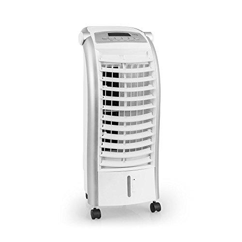 TROTEC PAE 25 Aircooler 3-in-1 Luftkühler Ventilator Lufterfrischer (4 Gebläsestufen, Nacht-Modus, Timer, Naturwind-Modus, uvm.) Mobiles Klimagerät Klimaanlage