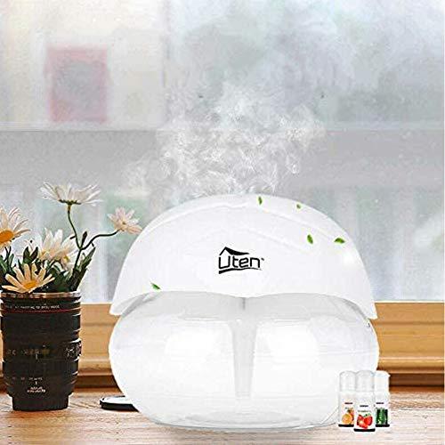 Luftreiniger Wasser Geräuscharmer Luftbefeuchter Diffusor mit 7 LED Licht