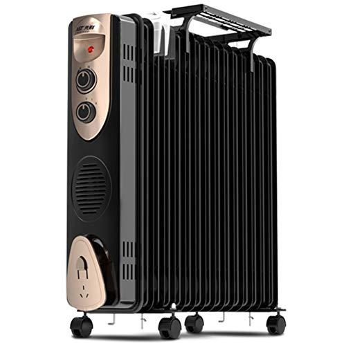 BAODI Ölradiator elektrischer Mechanische Öl gefüllt Radiator Heater Mini tragbare elektrische Raumthermostat 2000W Wohnzimmer Schlafzimmer