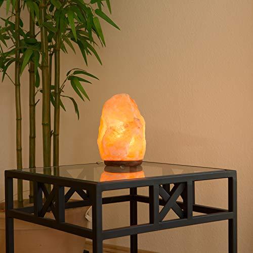 Biova Salz Kristall Stein Lampe Salzlampe Leuchte ca. 4 - 6 kg in 1A Qualität