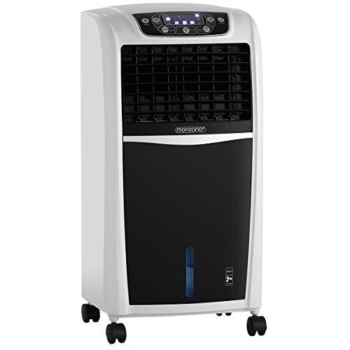 MONZANA Aircooler 4in1 Fernbedienung 8 L Tank Luftkühler Klimagerät Ionisator Timer Mobil Luftbefeuchter Ventilator