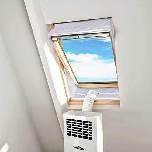 Hoomee Dachfensterabdichtung für ein mobiles Klimagerät