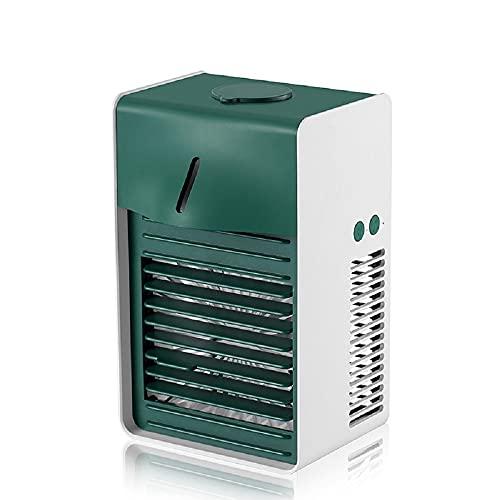 BestSiller Tragbare Klimaanlage, Mobiler Luftkühler mit 3 Geschwindigkeiten, Desktop Luftbefeuchter Nebelventilator für Zimmer Büro Küche