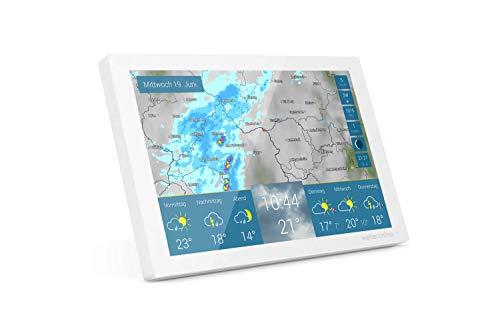WetterOnline Home - WLAN-Wetterstation - WetterRadar fürs Zuhause: einfache Bedienung, Wettervorhersage auf Farbdisplay, RegenRadar, UnwetterWarnung