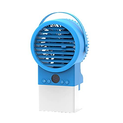 pEGONE Mobile Klimaanlage, Luftbefeuchter, Nachtlicht, 7 Farben, 3 Leistungsmodi, 3 Geschwindigkeitsstufen, Leise Klimaanlage Mit Timing