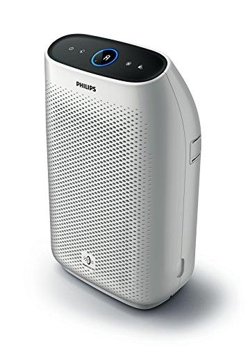 Philips AC1214/10 Luftreiniger Connected entfernt bis zu 99,9% der Viren und Aerosole* aus der Luft - ECARF zertifiziert (für Allergiker und Raucher, bis zu 63m², CADR 270m³/h, mit App-Steuerung) weiß