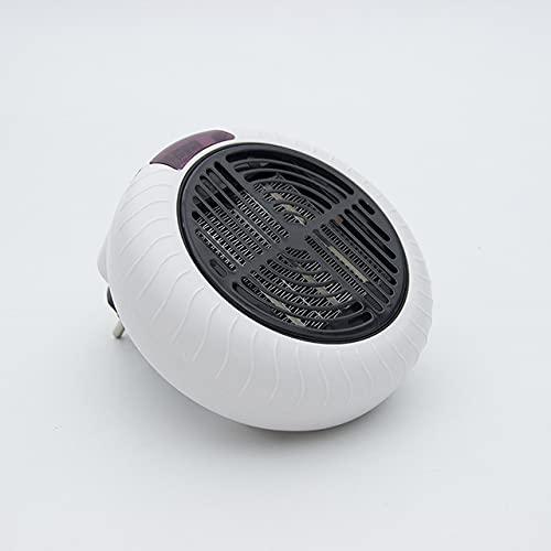 Steckdosen-Heizlüfter Keramik-Heizung für zu Hause und unterwegsKeramik-Heater Heizlüfter Elektrische Heizung Tragbare und leistungsstarke Mini-Heizung (Weiß 3)