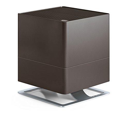 Stadler Form Luftbefeuchter Oskar, energiesparender Raumbefeuchter für Räume bis 50 m², Verdunster mit Abschalt-Automatik, dimmbare LEDs, sehr leise, bronze